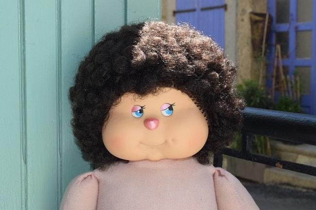 poupée Clodrey non identifiée