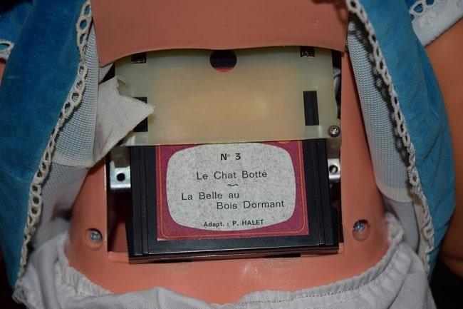 mécanisme de la poupée Clodrey Mimi Cassette