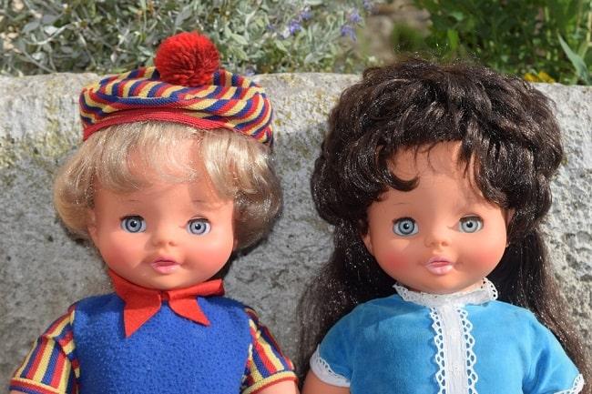 poupées Clodrey Mimi Cassette