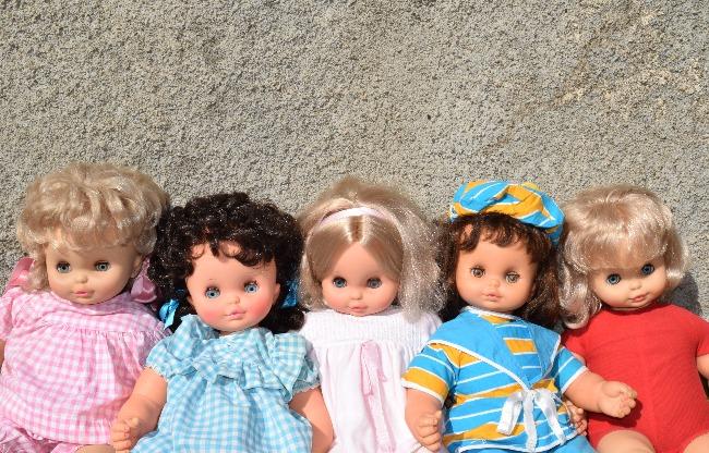 poupée Clodrey Praline à corps souple