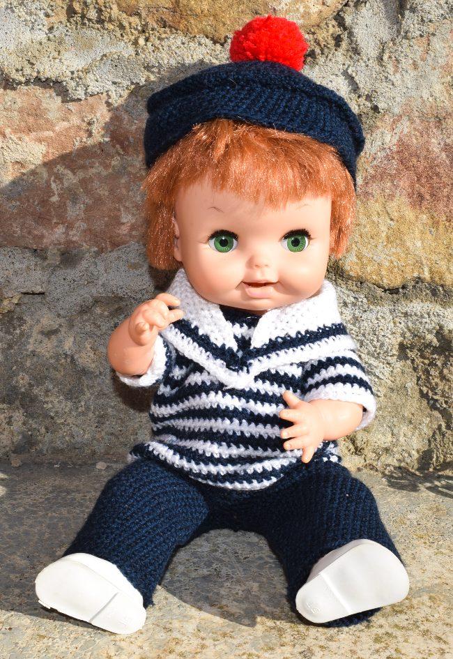 poupée américaine remco avec dents qui poussent