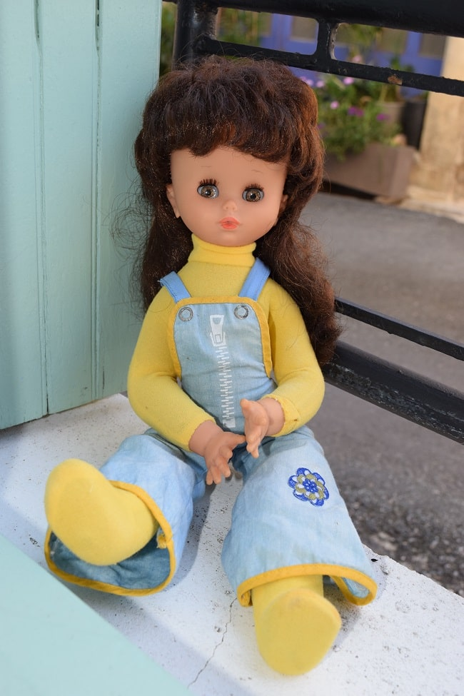 Kristel poupée Clodrey