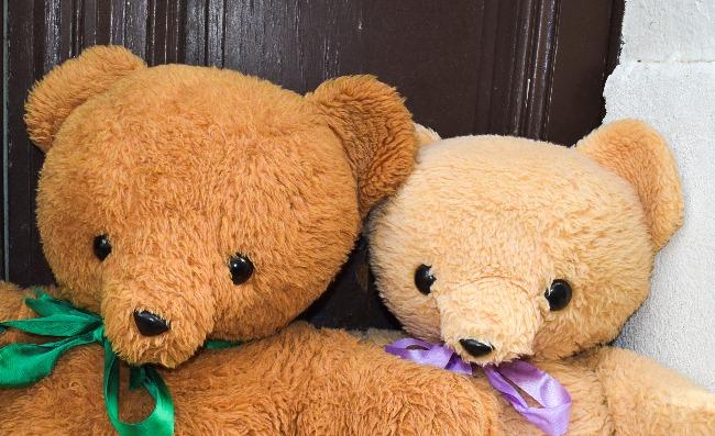 ours en peluche marque Minouche Ajena