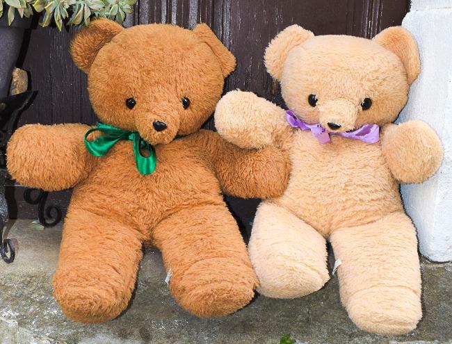 ours en peluche minouche