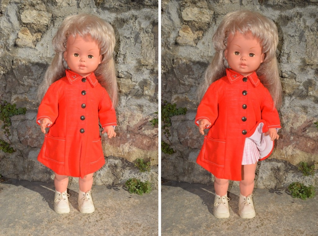 Caroline, une poupée très élégante