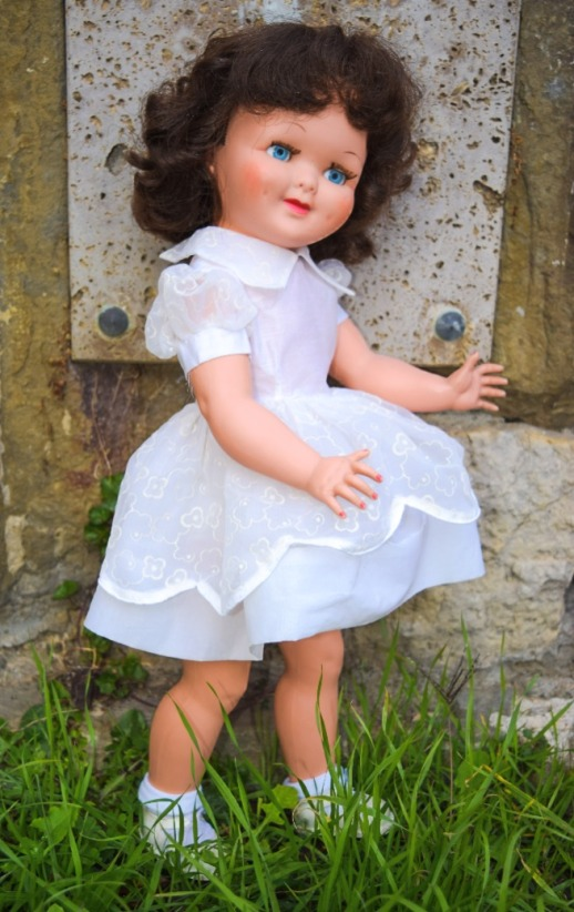 COlombe, poupée CLodrey années 50