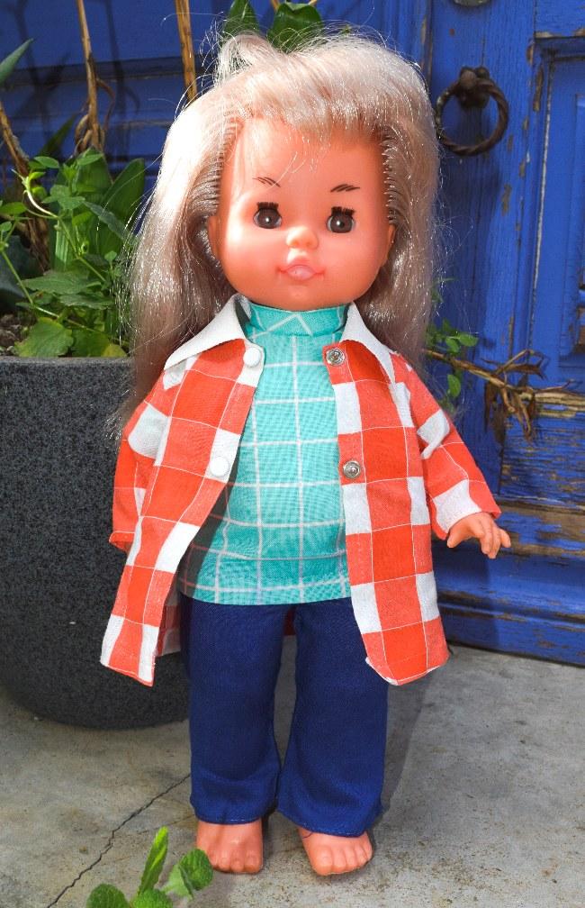 poupée Gégé Dany armoire trousseau