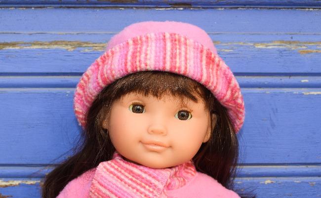 poupée Corolle Amandine Noël 2005