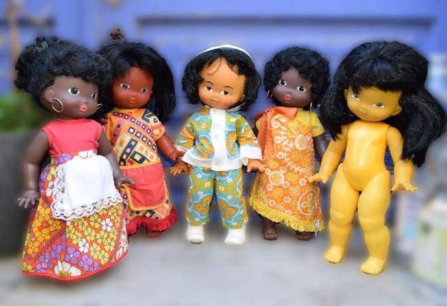 poupées Clodrey du monde entier