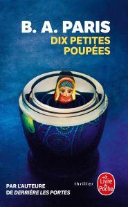 chronique du roman Dix petites poupées de B.A. Paris