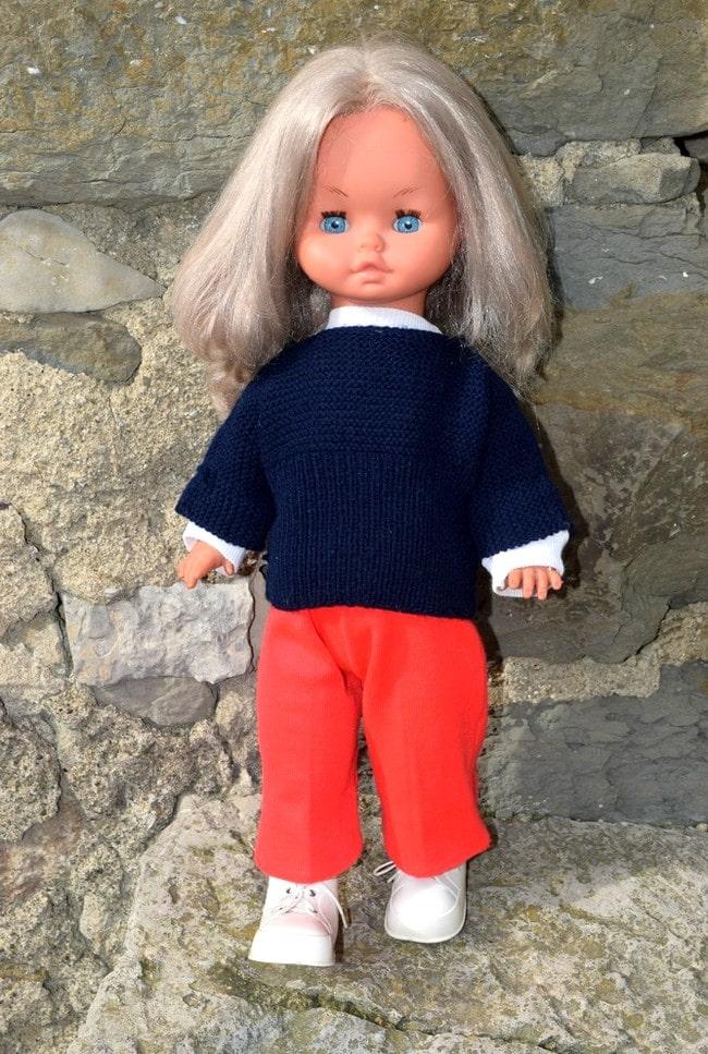 poupée Gégé Chantal électrique