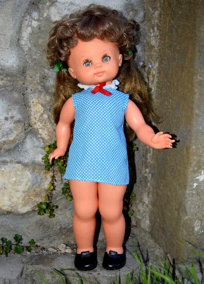poupée Bella à tête de Sybille