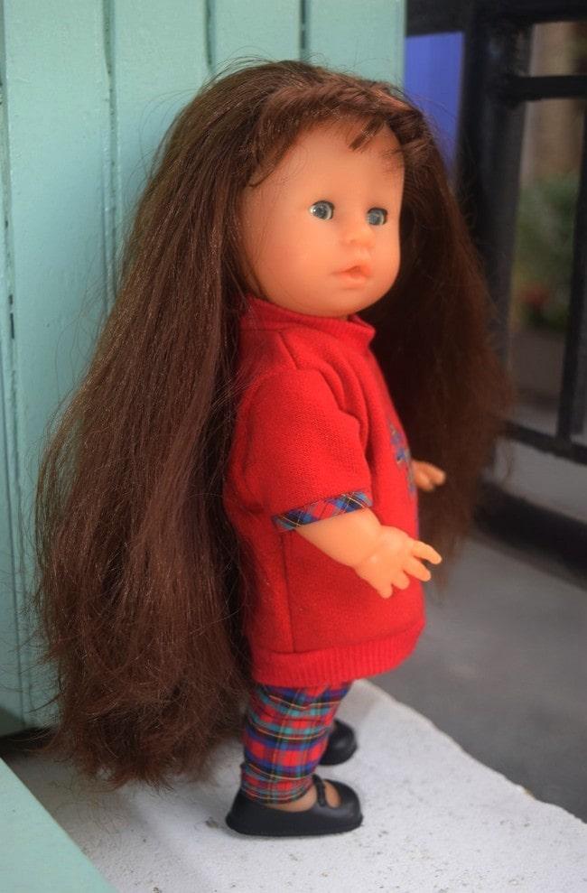 Poupée Corolline Corolle très longs cheveux