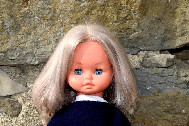 poupée Gégé marcheuse parlante Chantal