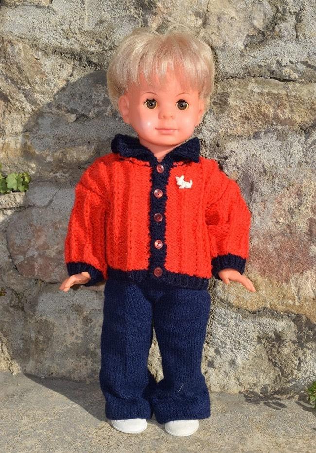 poupée Peticollin Eric, le petit copain