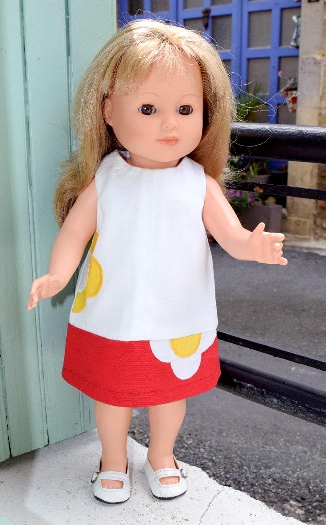 tenue poupée Modes & Travaux juin 2013