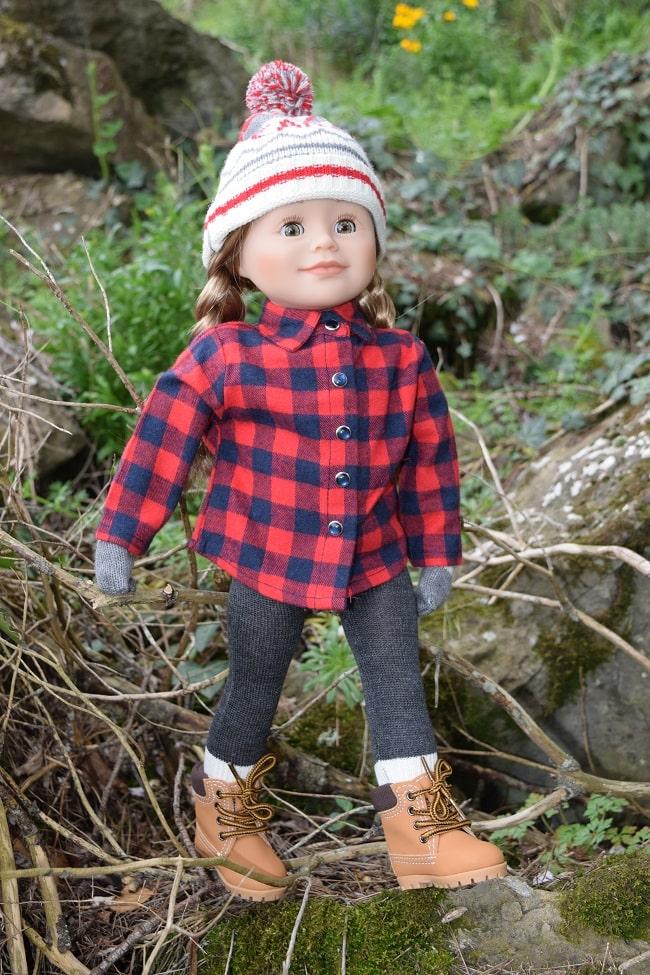 Léonie, poupée Maplelea