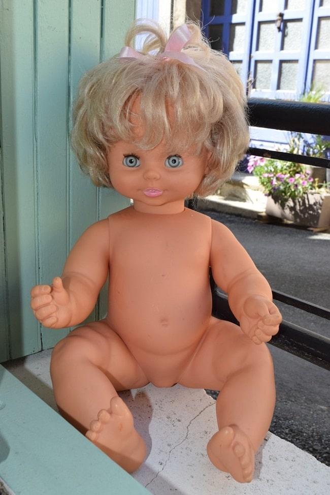poupée Clodrey Petite soeur premier modèle