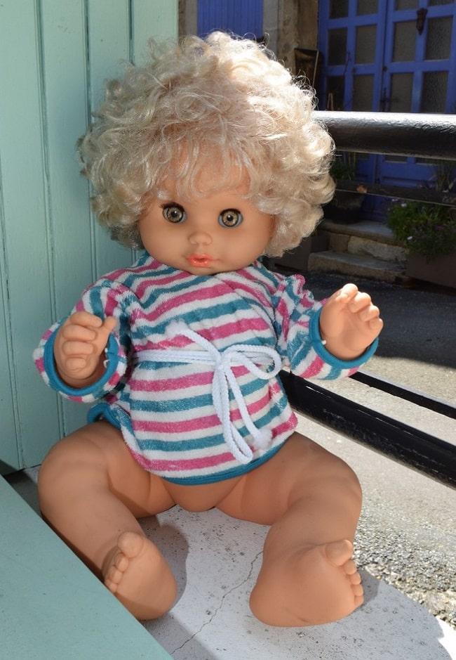 poupée Clodrey Petite soeur 1970