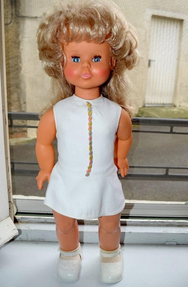 poupée Clodrey électrique Reine Claude