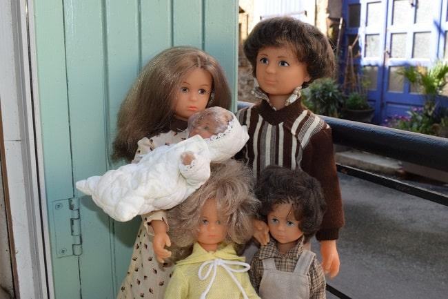 poupées Bella la famille