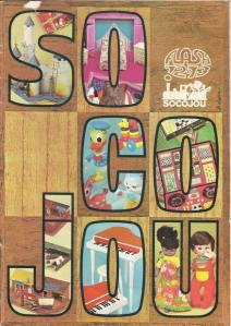 catalogue jouets socojou flash 1972-1972