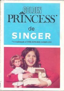 Catalogue poupée Golden Princess