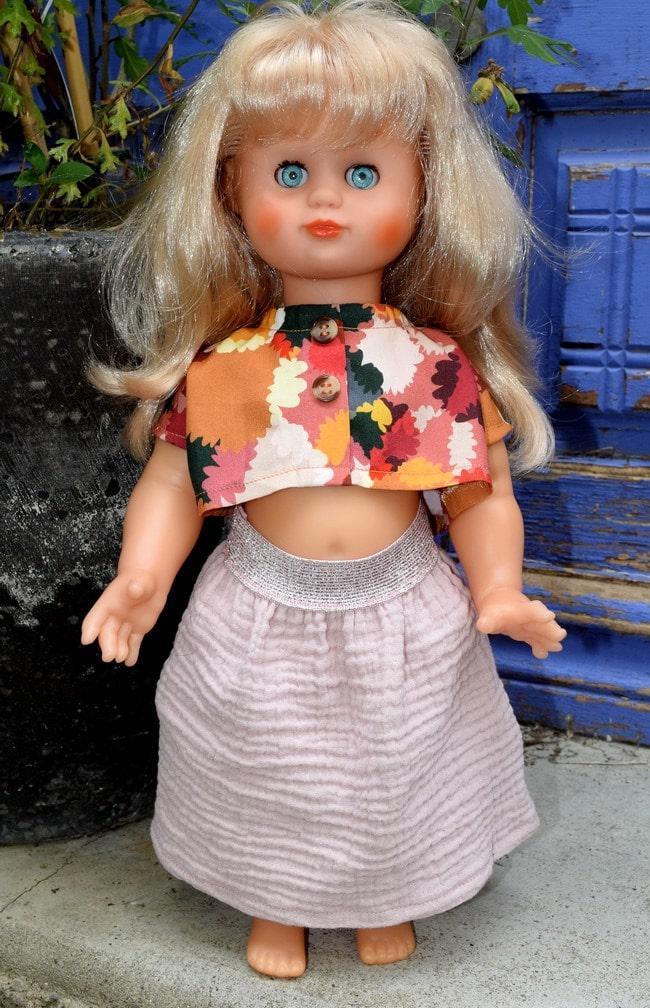 tenue poupée Modes & Travaux juin 2020