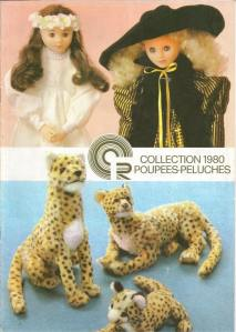 catalogue poupées peluches Clodrey CR 1980