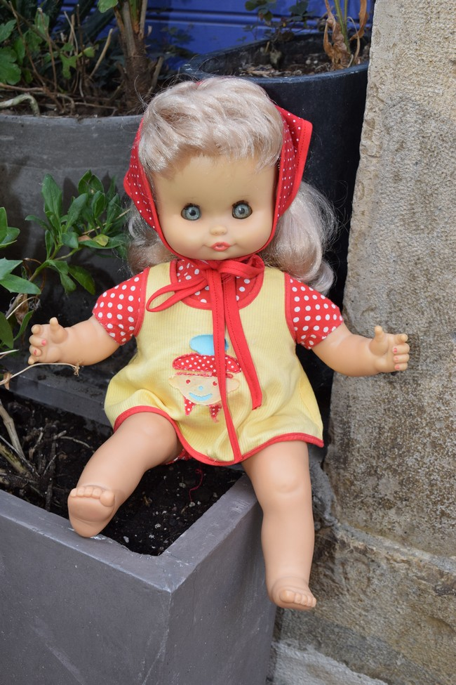 Benjamine 1972, poupée Clodrey