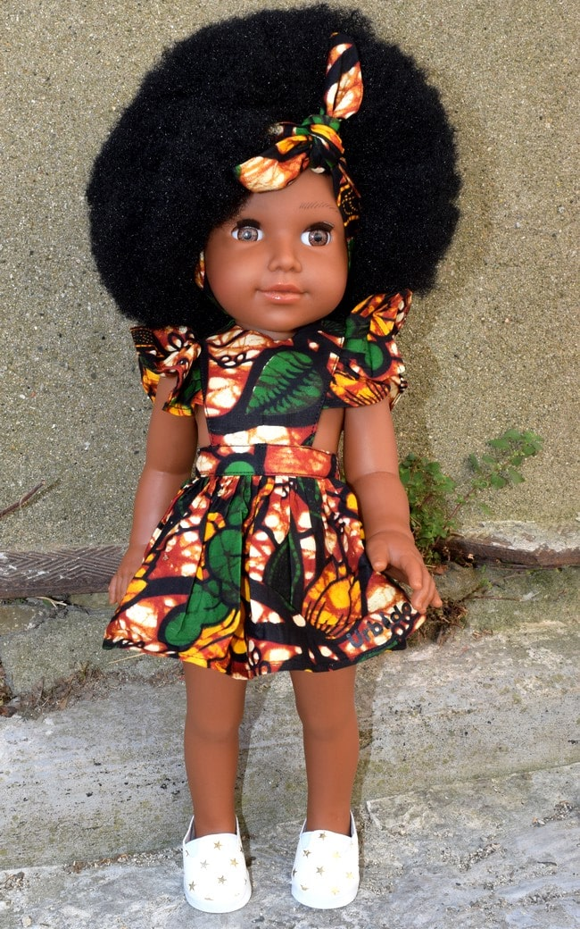 poupée Imany Urbidolls
