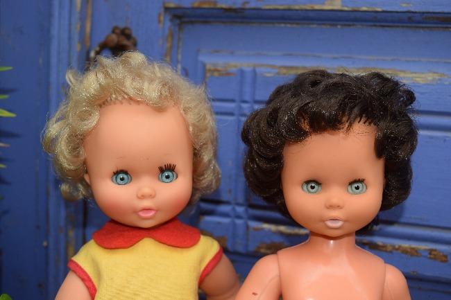 poupées Clodrey Marina et Isabelle