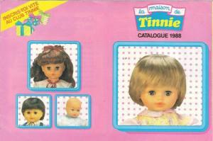 Catalogue poupées Tinnie 1988