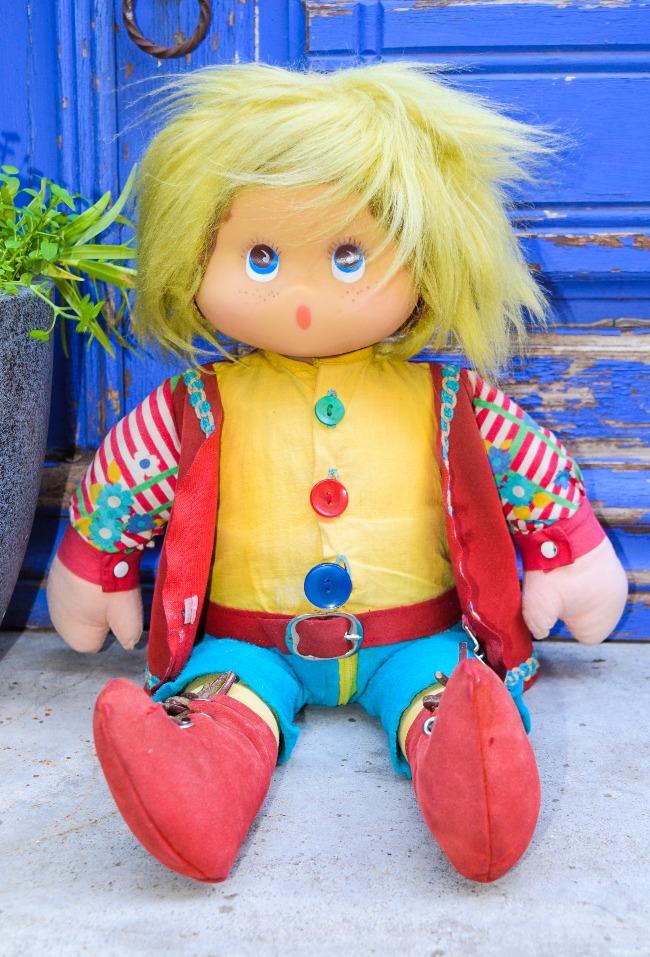 poupée Clodrey Gavroche, jouet éducatif