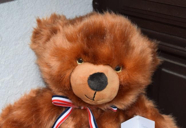 ours en peluche fabriqué en France Mailou Tradition