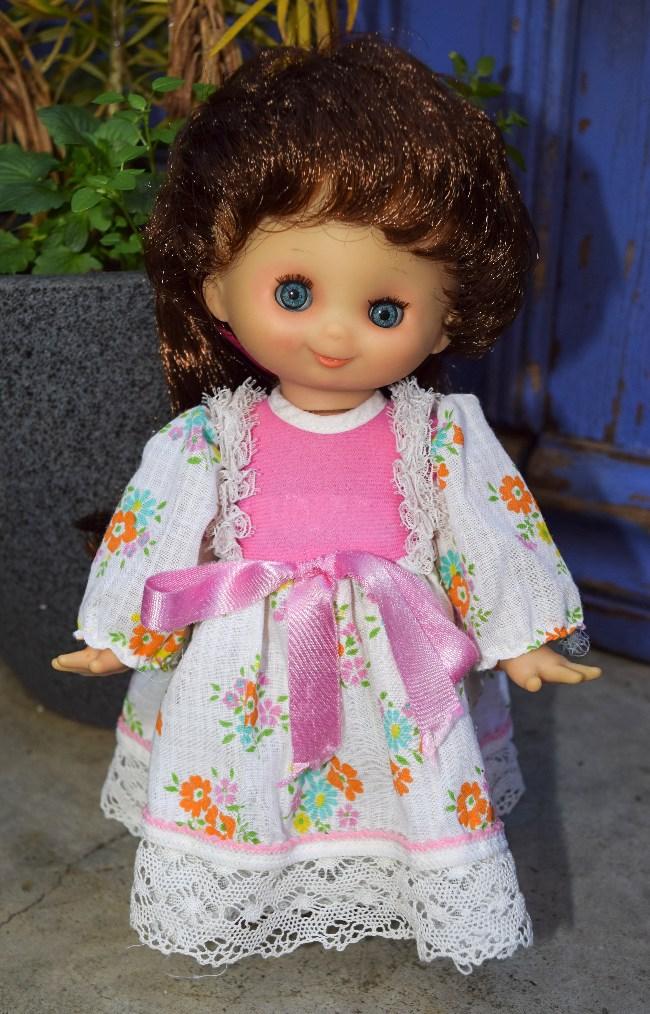Camille, poupée Clodrey petite fille modèle