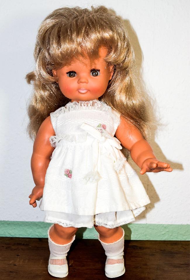 poupée Clodrey Manon habillée par Gama