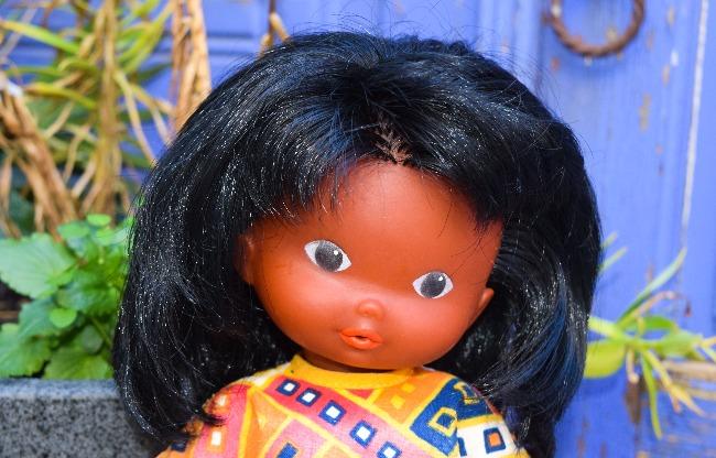 poupée Clodrey du monde entier Nuage Rose indienne