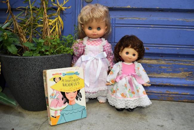 poupées Clodrey Camille et Madeleine