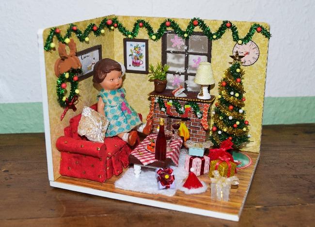 kit maison de poupée miniature à monter soi-même