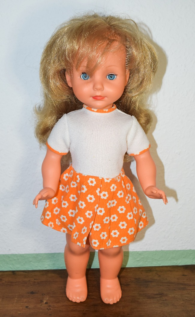 poupée Bella vintage