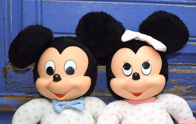 Baby Mickey et Baby Minnie Clodrey Ajena