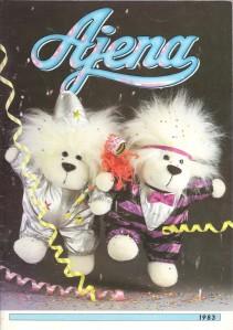 Catalogue peluches Ajena 1983