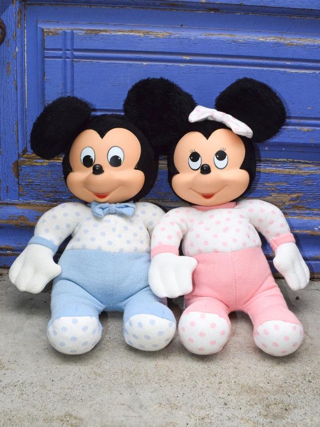 doudou Mickey et Minnie Clodrey Ajena