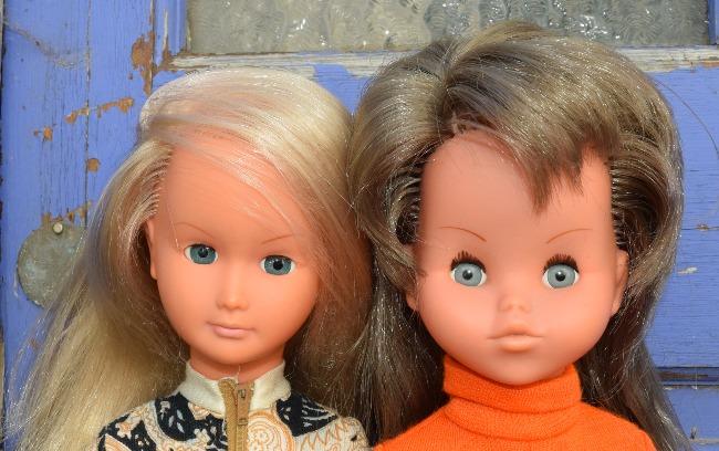poupée Gégé maxi mannequin Dolly