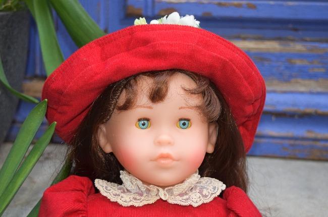 poupée Corolle Natacha Noël en rouge 1997