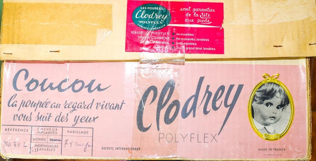 étiquette poupée Clodrey Coucou polyflex