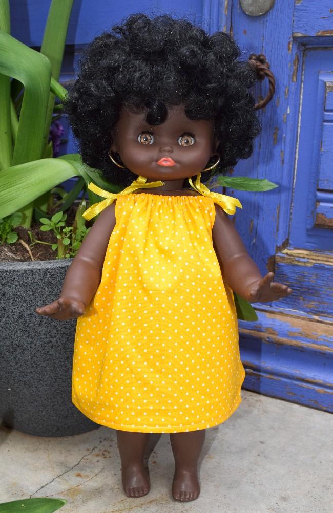 poupée Clodrey noire Madou