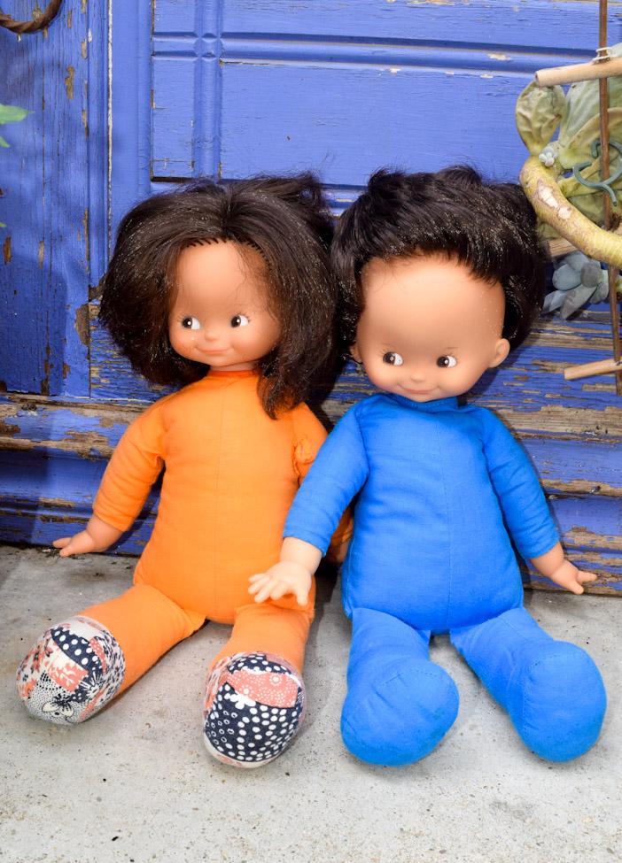 poupée Clodrey chiffon Jeannot et Jeannette