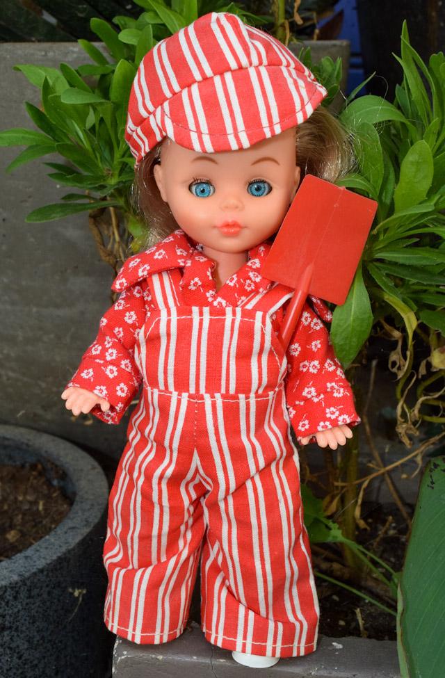 poupée Bella Microbe 1977 tenue Cléo